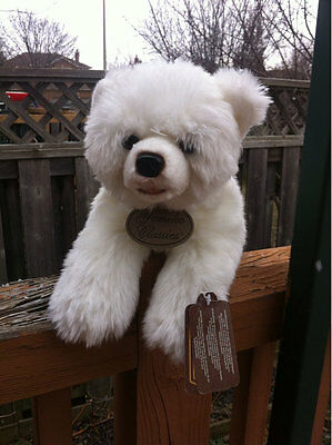 +4.  Yomiko Classics White Polar Bear Stuffed Animal Plush Toy