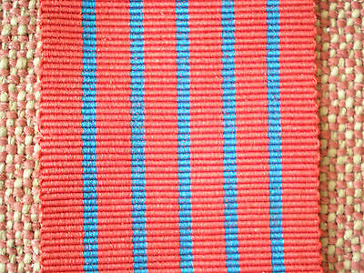 """WW2 GEORGE MEDAL RIBBON (6"""" inch lengths or more)"""