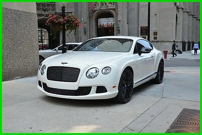 2013 Bentley Continental GT Bentley Continental GT Speed 2013 Speed Used Turbo 6L W12 48V Automatic AWD Coupe Premium