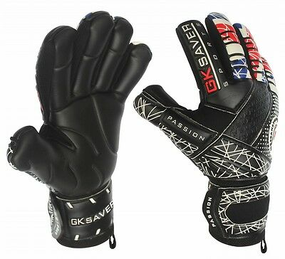 Goalkeeper Gloves Football  Negative Cut GK Saver Passion UNITY 6,7,8,9,10,11