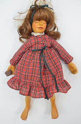Hamilton Collection WAITING FOR SANTA Replacement Wood Doll CA Christmas