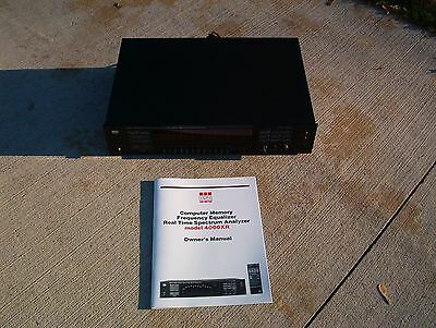 Bsr 4000Xr Frequency Equalizer / Tech Serviced / Manual / Excellent !!