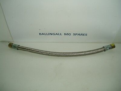 376-060 Aaa627  Mga & T -Type Oil Line Stainless Braided