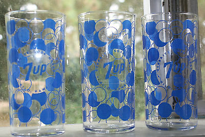 Rare Sunbrite Beverages 12 Pk 7Up Acl Glasses Bottle Hawaii In Box
