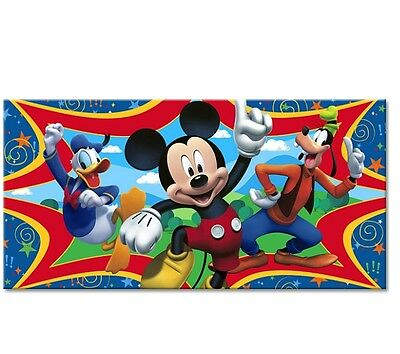 Disney Mickey Mouse ~ Plastic Party Backdrop ~ Birthday Party Decoration