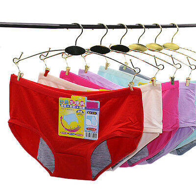 Physiological Leakproof Menstrual Period Lengthen Broadened Underwear Panties AT