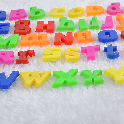 Upper case Letters Capital Fridge Classroom Home Magnetic Baby Kids Study Toys