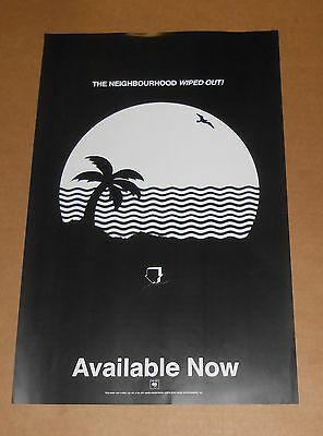 The Neighbourhood Wiped Out! 2015 Poster Original Promo 11x17