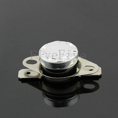 Temperature Switch Control Sensor Thermal Thermostat 30°C-130°C N.O. KSD301