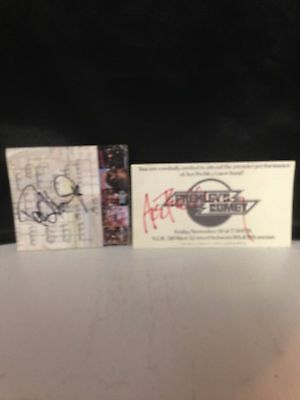 KISS Signed Paul Stanley and Ace Frehley