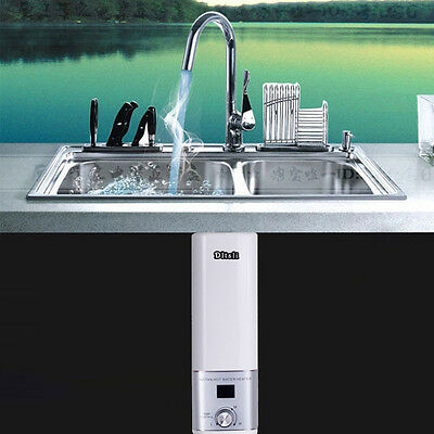 KITCHEN Portable Electric Water Heater System For Tap Faucet INSTANT HOT Water