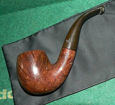 Gardhill' Bruyere Select' Vintage French Briar Tobacco Pipe. Used. Solid Cond.