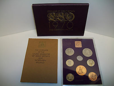 1970 Coinage of Great Britain and Northern Ireland - Proof Set