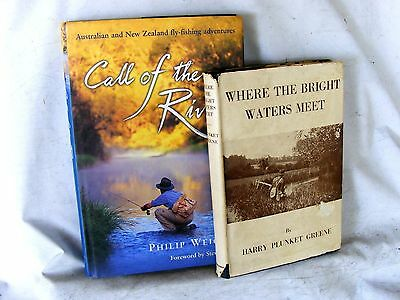 Fly Fishing ... Where The Bright Waters Meet .. Call of the River .. trout books