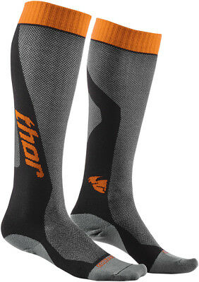 Thor MX Cool lange Socken Strümpfe 2017 orange Socks Motocross FMX Enduro ATV