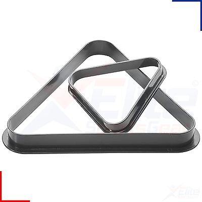 Peradon Snooker Pool Table Plastic Moulded Triangle for 10 or 15 Balls