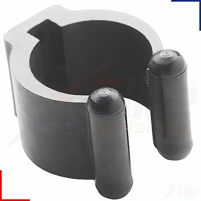 Peradon Black Nylon Cue Clips Snooker Pool Rack Holders