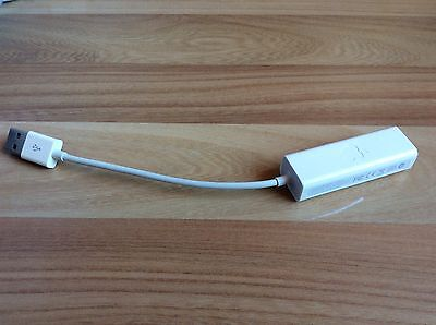 APPLE A1277 USB 2.0 Ethernet Adapter-Genuine