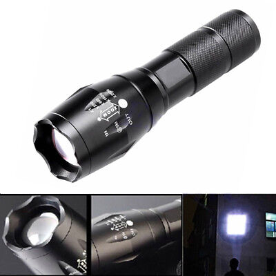 6000LM G700 X800 T6 XML LED Flashlight Zoomable Waterproof 18650/AAA Torch Lamp