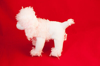 """TY French Poodle Beanie 6-7"""" approx Pink"""
