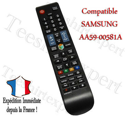 Universelle AA59-00581A TV Telecommande Controleur Remote Pr Samsung LED LCD TV