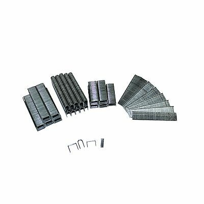 Craftright ASSORTED STAPLES 2000 Pieces, Standard, T & U Type, Steel Made