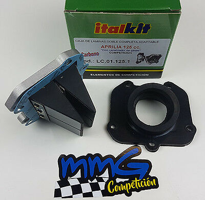 Kit Caja de Laminas Carbono Doble Prisma Aprilia RS125