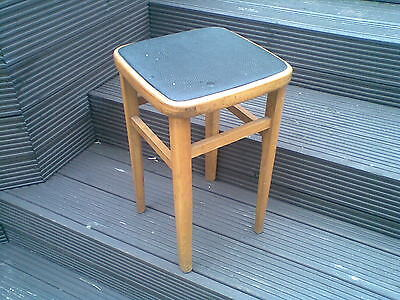 vintage retro style stool removeable top