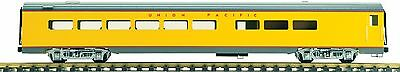 Accucraft  AL34-336 Diner Car, Union Pacific Yellow, Red Strip, limited edition