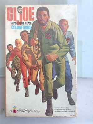 Vintage Gi Joe 1973 Action Figure Military Soldier Colorforms New In Box
