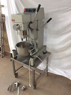 Crypto Peerless Catering Planetary Dough Mixer On Stainless Stand