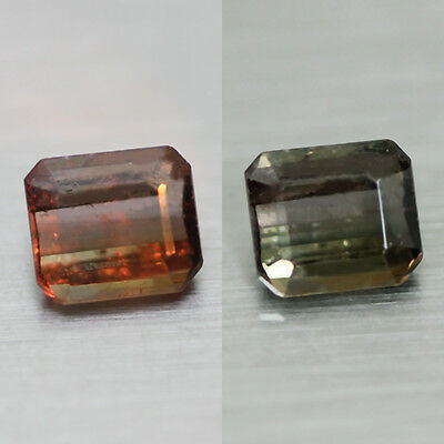 0.84Cts  Ultra Rare Top Quality 100% Nr  Colour Change Axinite