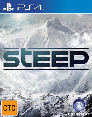 Steep  - PlayStation 4 game - BRAND NEW