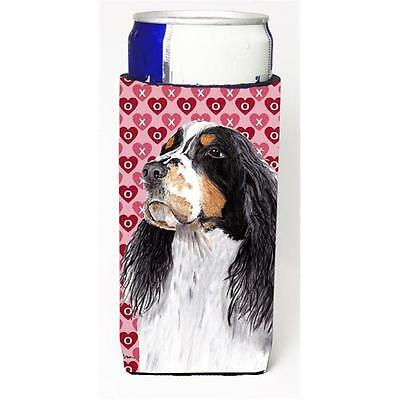 Springer Spaniel Hearts Love Valentines Day Michelob Ultra bottle sleeves for...