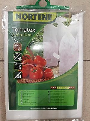 10x0,6m PLANT PROTECTION TOMATO FLEECE TUBE FROST WIND WINTER BLANKET SNOW