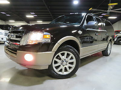2013 Ford Expedition KING RANCH EL (LWB)NAV CAMERA POWER-BOARDS 1-OWNER 13 Expedition EL King Ranch Nav Camera Sunroof Power-Boads 1-owner