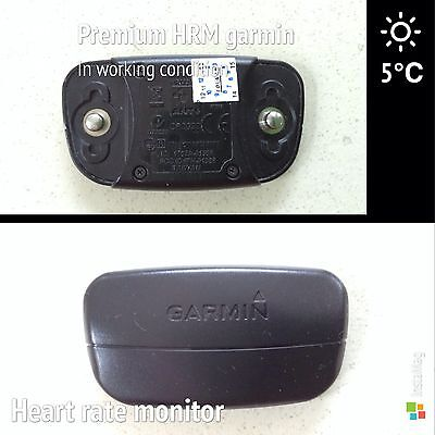 Used Premium Garmin Heart Rate Monitor Hrm In Good Condition