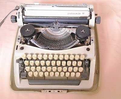 Vintage Grundig GABRIELE 10 Adler TYPE WRITTER - Rare antique collectible