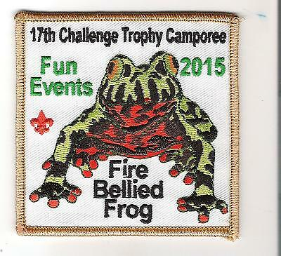 Seneca Waterways - Camp Babcock-Hovey - 2015 - 17th Camporee- Fired Bellied Frog