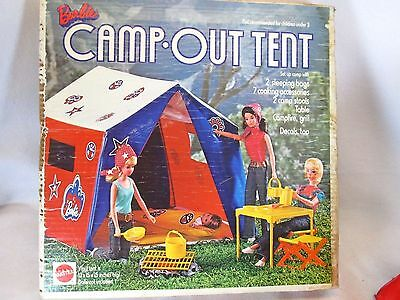 Vintage 1972 Mattel Barbie doll Camp Out Tent