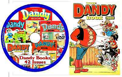 Dandy Books DVD 42 issues - on DVD with viewing software