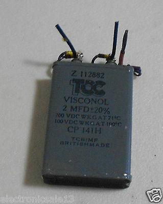 Tcc Visconol 2Mfd Part No. Z112882