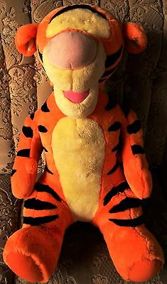 """20"""" Talking Tigger Soft Toy Rayleigh Essex Fisher Price Matel Winnie the Pooh"""