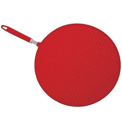 NORPRO GRIP-Ez Splatter Guard Cover Screen With Handle For Frying Pan  NP2061 N