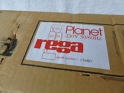 BRAND NEW & BOXED Rega Planet High Quality Vintage CD Player + Instruction Book