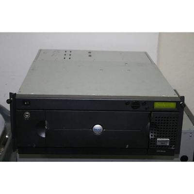 Dell PowerVault 132T R0093 LTO-2 Library PV-132T With 2x 3U014 LTO Tape Magazine