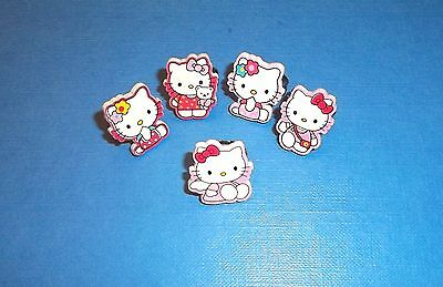 Girl Hello Kitty Adjustable Rings 5 items Party Fillers