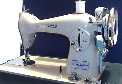 1960's VINTAGE BROTHER HEAVY DUTY - DE-LUXE - HOME ELECTRIC SEWING MACHINE