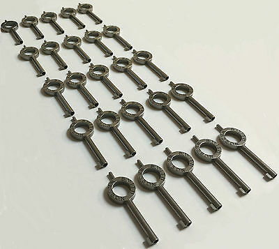 25 Smith and Wesson Handcuff Keys BRAND NEW