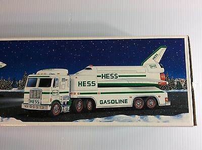 New HESS Toy Truck Space Shuttle Satellite 1999 Lights Sound Boys Hess Gasoline